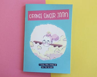 Orange Ginger Jam ZINE