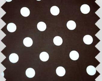 Cat Nap Hammock Brown & White Polka Dot