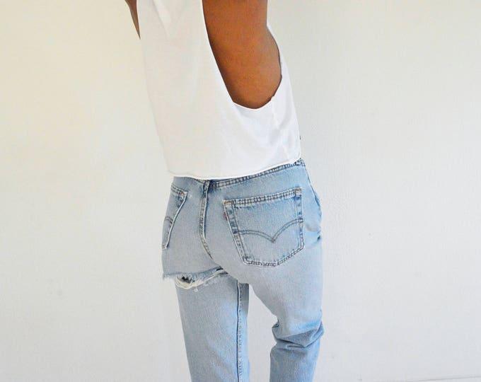 LEVI'S Ass Rip 501 Jeans size 28