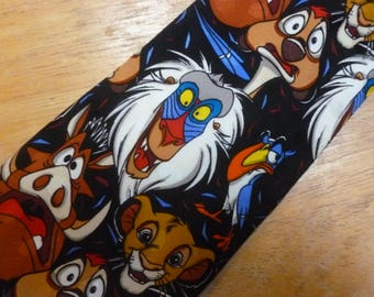 Disney Lion King character silk necktie