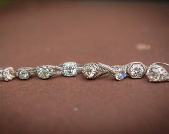 Resize a ring- Engagement Ring - Antique Engagement Ring - Vintage Engagement Ring