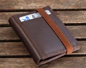 Leather Wallet, Mens Wallet, Wallet Leather, Brown Leather