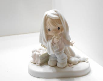 "Vintage 1987 Precious Moments ""JUNE"", Enesco #110043, Samuel J. Butcher"