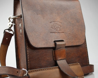 Leather Messenger Briefcase Bag Leather fits iPad Messenger Bag XXX