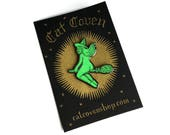 Glow-In-The-Dark Butt Witch Pin