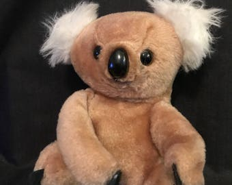 Vintage Bear Stuffed Animal Koala Bear Made in Korea Austrailian Koala Bear Vintage Toy Vintage Koala Bear