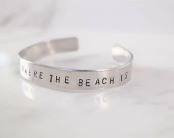 Home Is Where The Beach Is Bracelet
