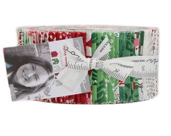 Merry Merry Christmas Prints Jelly Roll - Moda Fabrics - 27270JR