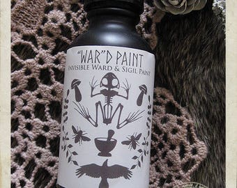 WARD PAINT, Invisible Ward and Sigil Paint, Witchcraft, Sigil Magick, Protection, Cleansing, Purification, Pagan Supplies