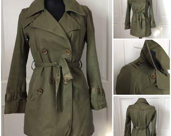 Army green utility jacket size M