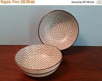 SALE - Two Large Japanese Noodle Bowls