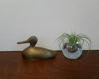 Brass Decoy Duck