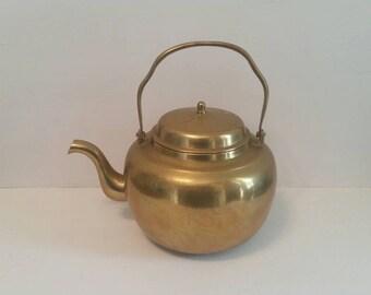 Brass Teapot Kettle
