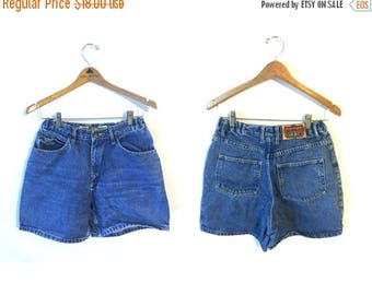 ON SALE 90s High Waisted General Denim Shorts Womens 10 28