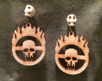 Mad Max Fury Road Laser Cut Earrings