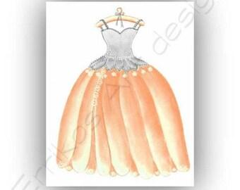 Princess Peach Wall Art  Kids Decor, Girl Nursery, Girls room Decor, Kids Wall Art, Princess Art, Nursery Decor, Nursery Wall Art