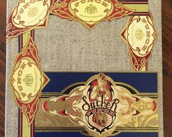 2017 Cigar Band Collage Coaster: Sucker Punch!