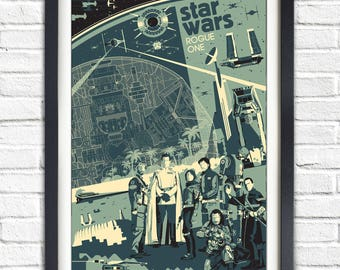 Star Wars - Rogue One - 19x13 Poster