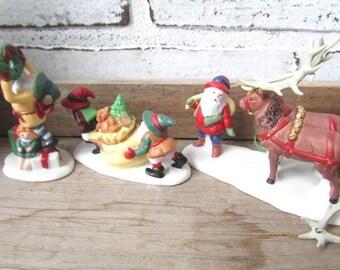 Department 56 Santa's Little Helpders Heritage Village Collection 5610-3
