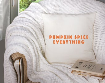 halloween decor - basic witch decor - pumpkin spice decor - halloween pillow - decorative throw pillow . throw pillow with words -