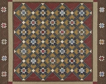 Bonnie Blue Quilts Victory Star a Civil War Inspired Quilt Pattern
