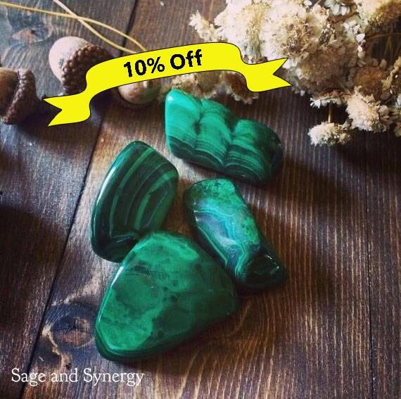 Large Malachite, Tumbled Malachite, Malachite Stones, Polished Malachite, Malachite, Pocket Stones, Healing Crystals, Tumbled Stones, Loose