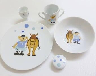 All child in Limoges porcelain