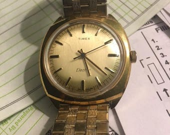 Vintage Men's Timex electric watch...FREE shipping!!!