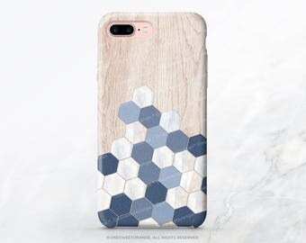 iPhone 8 Case iPhone X Case iPhone 7 Case Wood Honeycomb iPhone 7 Plus iPhone 6s Case iPhone SE Case iPhone 6 Case Galaxy S8 Case I206