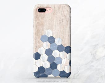 iPhone 8 Case iPhone X Case iPhone 7 Case Wood Honeycomb iPhone 7 Plus iPhone 6s Case iPhone SE Case iPhone 6 Case Galaxy S8 Case I206