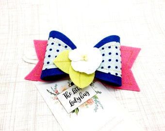 Felt Bow | Headband or Clip | M2M Made to Match Matilda Jane Make Believe Put on a Show Cookie, Something's Cooking, Little Sweetie