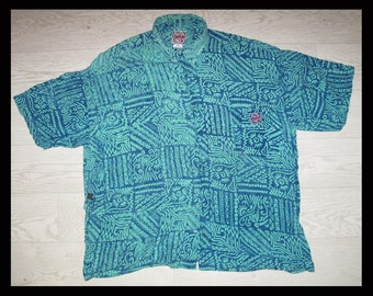 Vintage Hawaiian shirt by Kuta Lines, mens size XL