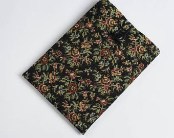 Kindle Paperwhite Cover, Kindle Voyage Sleeve, Nook Foam Padded Case, Galaxy Tab Case-SUPERIOR Shock Absorbent Padding - Floral Tapestry
