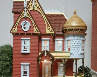 Hannah Victorian Mansion 1:24 scale