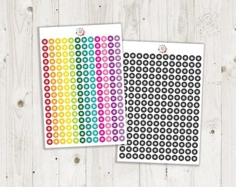 Asterisk Dot Stickers - ECLP Stickers