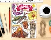 Hawaii notebook. Blank notebook. Journal. Personalization option.
