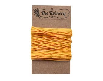 Yellow Bakers Twine - Solid Marigold - 15 Yard Bundle