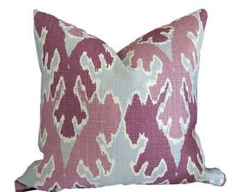 Lumbar Pillow Cover Kelly Wearstler Bengal Bazaar by Groundworks in Magenta