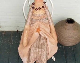 Cloth Doll handmade Primitive