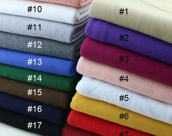 Soft Warm Cotton Fabric to make Winter Hoodies Sweatshirts Crewnecks Sold by Half Meter SH309