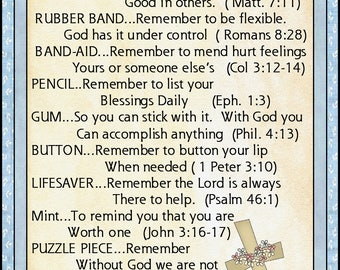 Daily Scripture Survival Kit