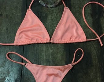 Peach cheeks  gstring  bikini