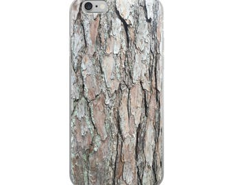 Pine Tree Printed iPhone Case