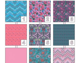 Changing Pad Cover ... { Soul Mate } Amy Butler - Dusty Violet Palette