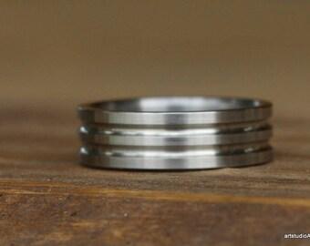 Men's Titanium Wedding Band. Men's Titanium Ring. Men's Titanium Wedding Ring. Men's Titanium Band. Promise Ring. Men's Jewelry