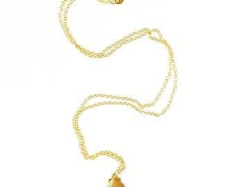 Marina Gold Vermeil Seashell Charm Pendant//Seashell charm //Gold pendant //Charm pendant //Gifts for women //Gold Jewellery //Vermeil