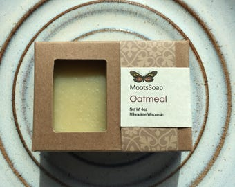 Oatmeal - Cold Processed Soap