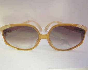 Vintage Christian Dior Oversize Glam Sunglasses