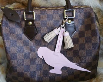 Parrot Bag charm  / key holder