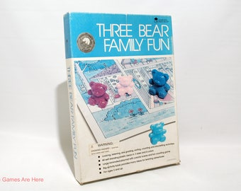 Three Bear Family Fun from Learning Resources 1990 (read description)